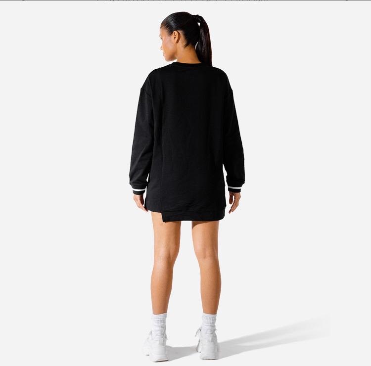 Sports jumper dress