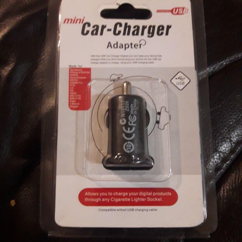 Car USB adaptor Mini