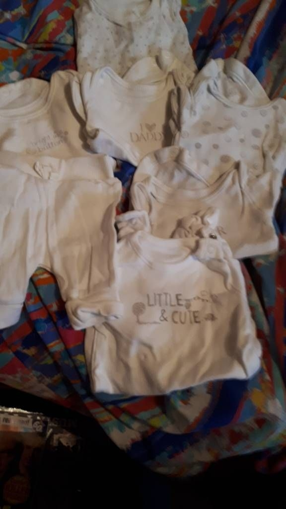 Baby clothes new born and tiny baby