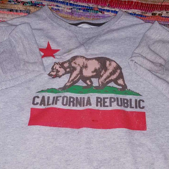 California republic crewneck sweater