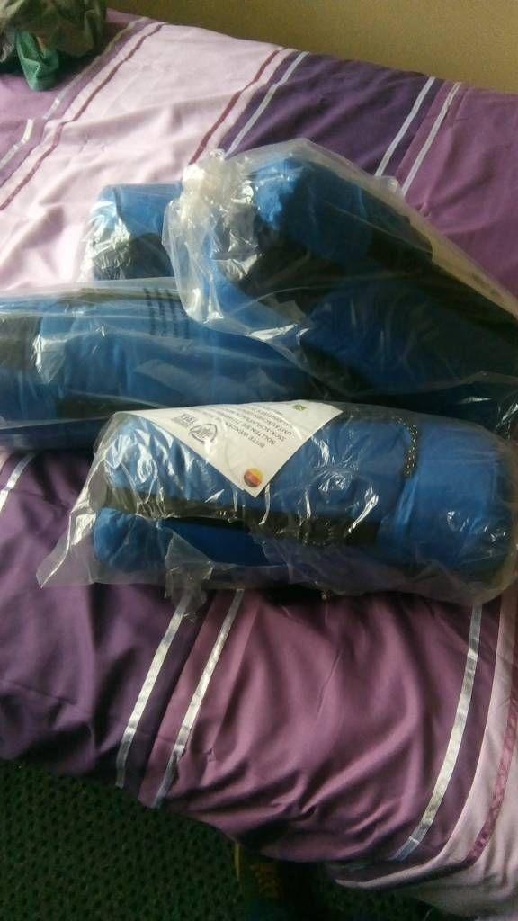 4 new sleeping bags