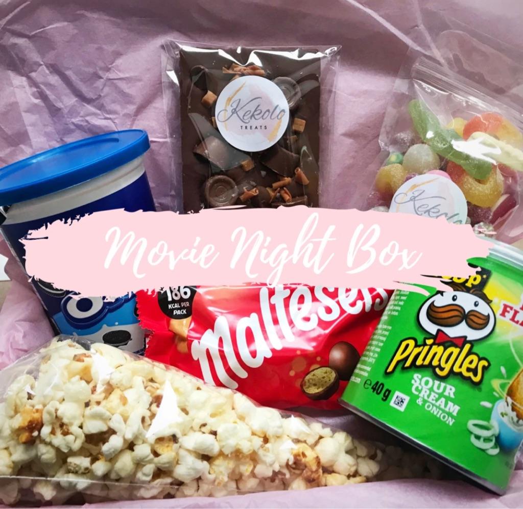 Movie night treat box
