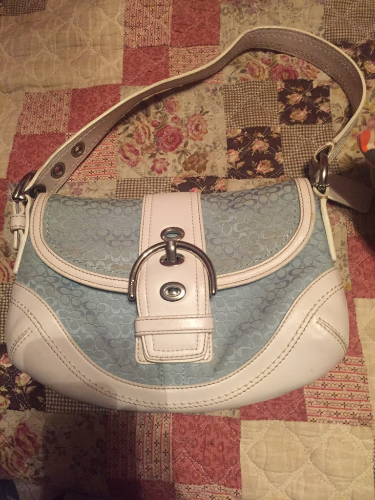 Like new Coach purse