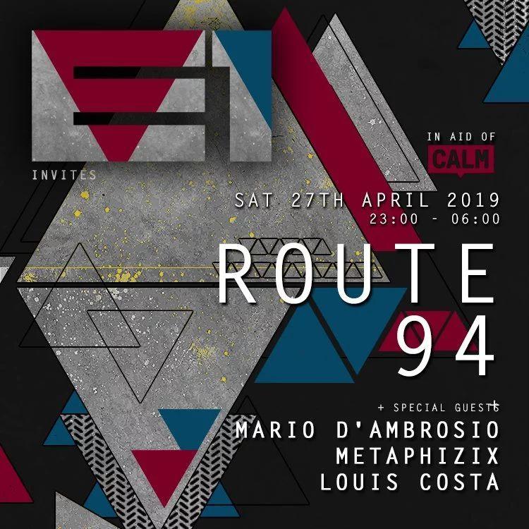 E1 London Route 94 Saturday 27 April 2019 - 2 Tickets