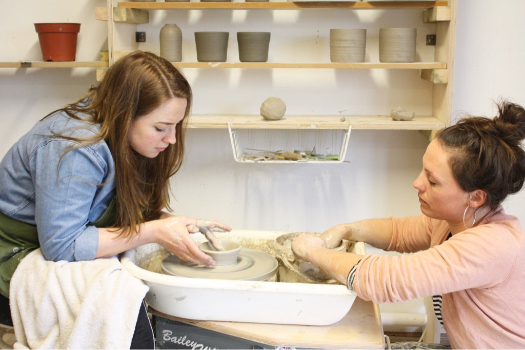 Wednesday Morning pottery classes