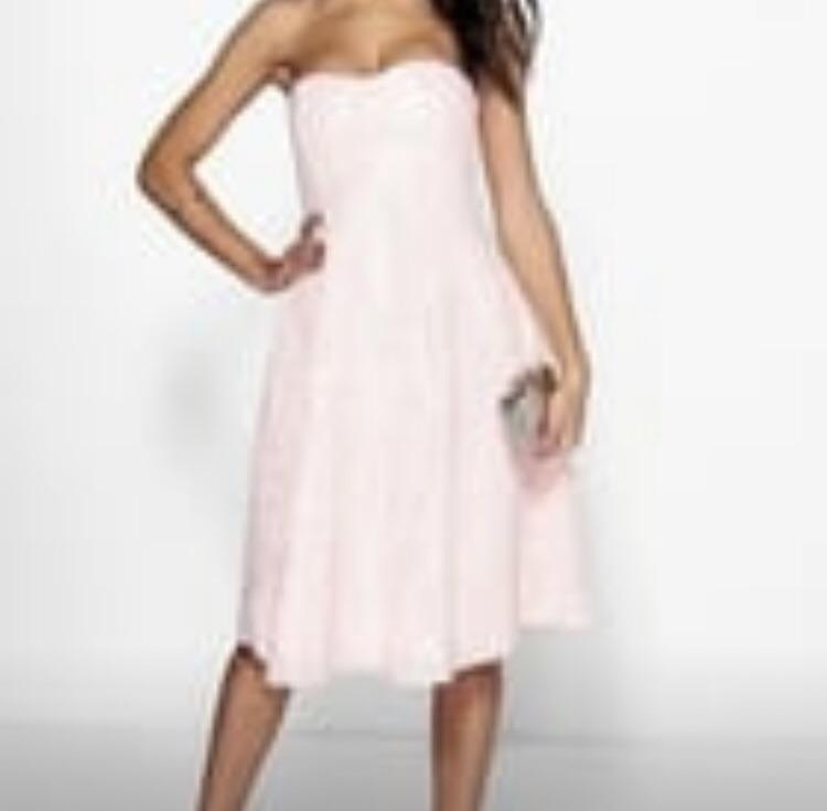 3 brand new blush pink dresses uk 8