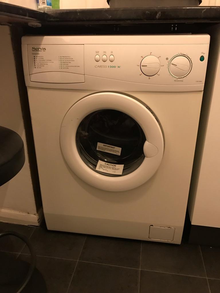 "Servis Caress 1200 ""A"" washing machine"