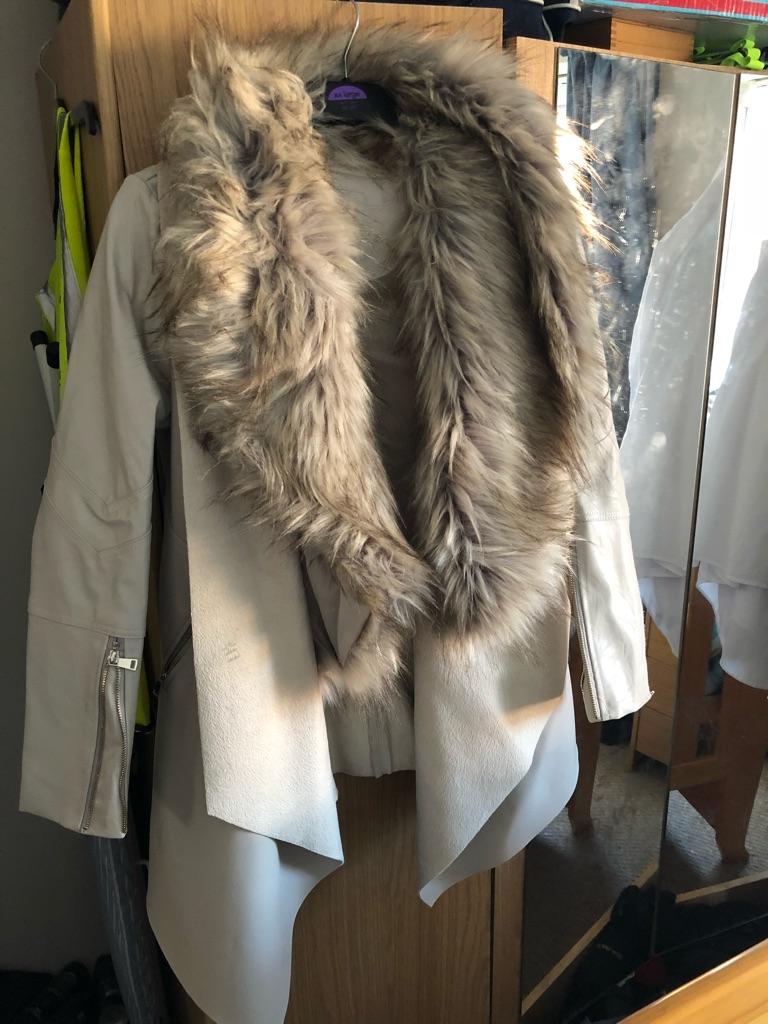 Ladies river island coat size 10