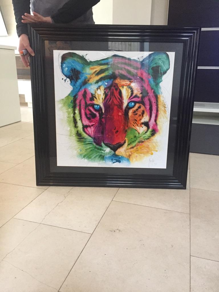 Patrice Murciano tiger art