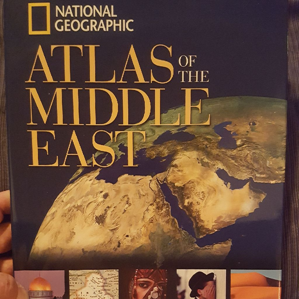 National Geographic Atlas of the Middle East 2013