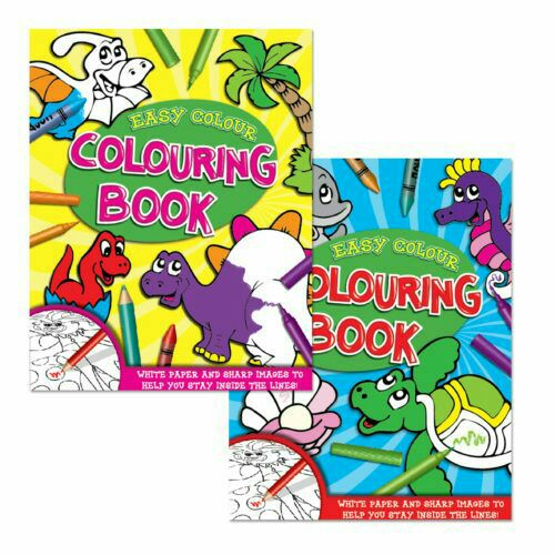 Easy Colouring books