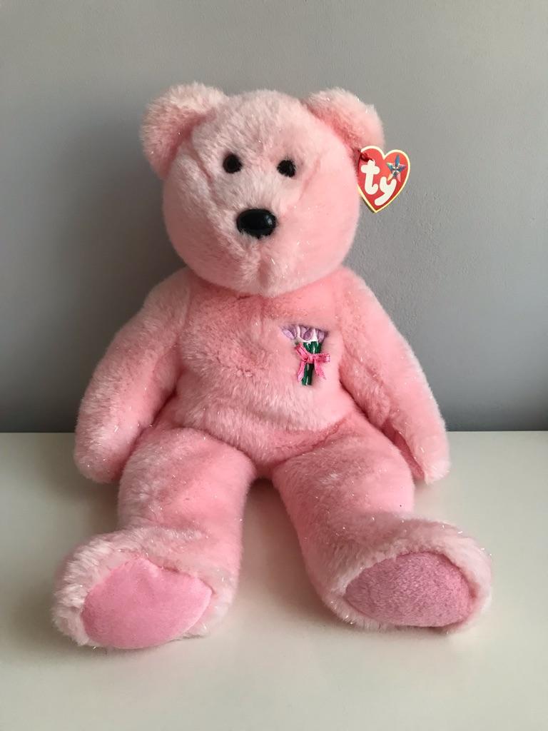 TY Beanie Bear - Mum