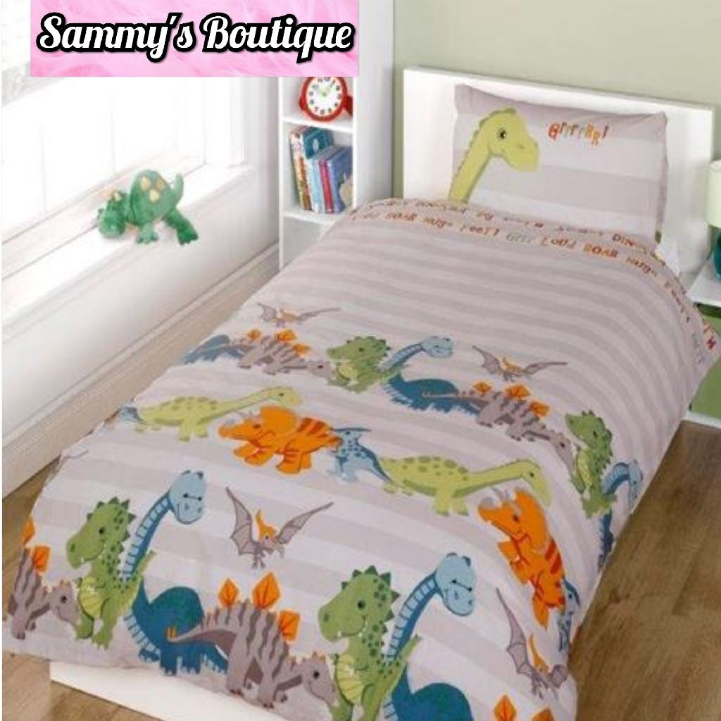 Children's Fun Filled Single Bedding