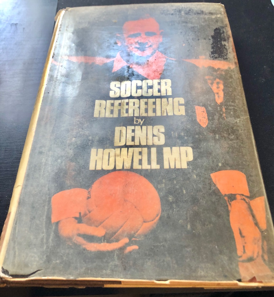 SOCCER REFEREEING BOOK