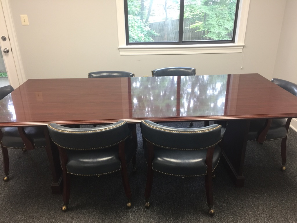 7 piece Conference Room Set