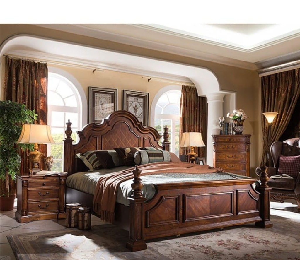 Classy and unique bed