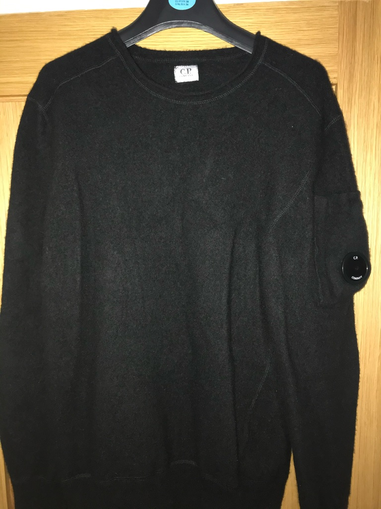 Black CP Company Jumper