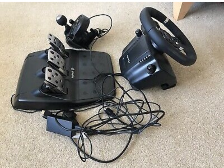Logitech steering wheel/shifter/pedals