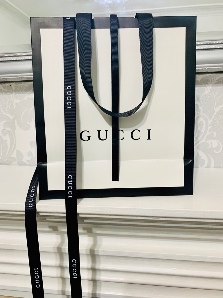 Womens Gucci Belt with Bags and Box