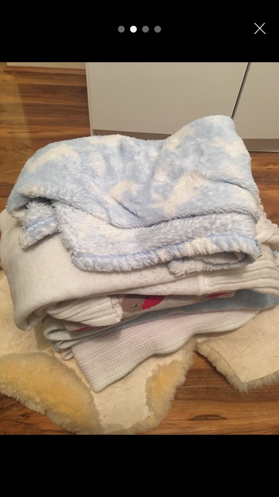 Used lots of baby blanket