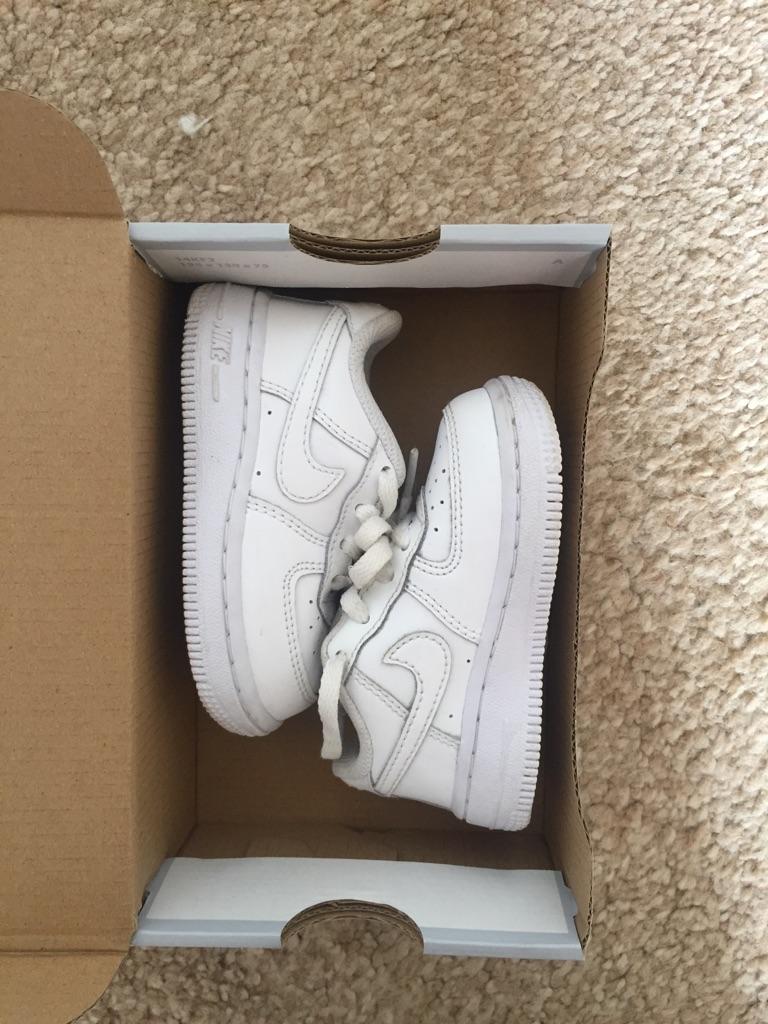 Toddler Airforce 1's (Size 4.5 UK)