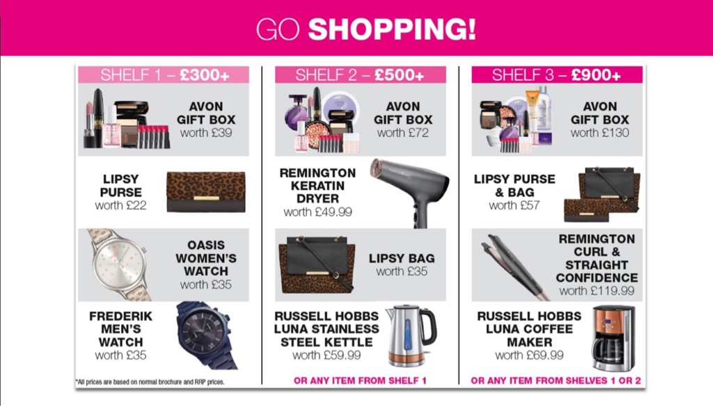 Limited time only! Join Avon today and win a fabulous prize!