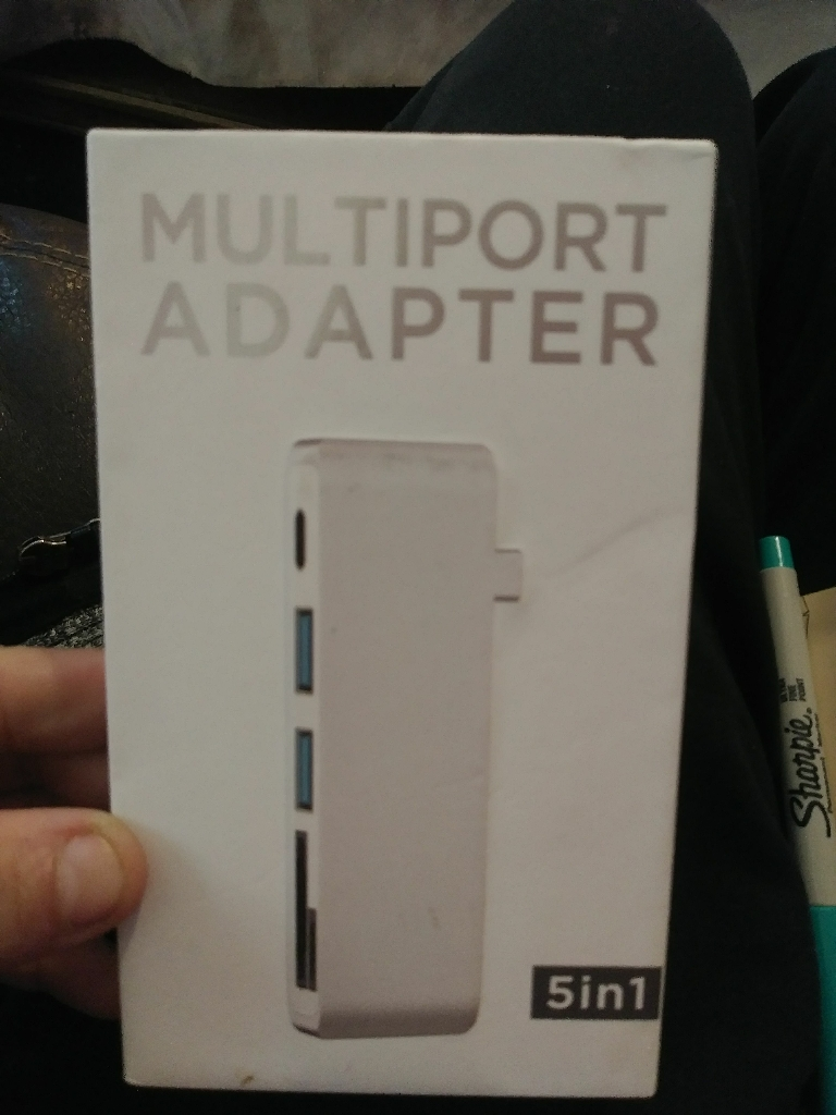 5 in 1 Type C Adaptor.