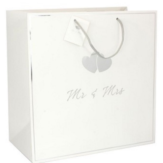 Mr and mrs gift bag large
