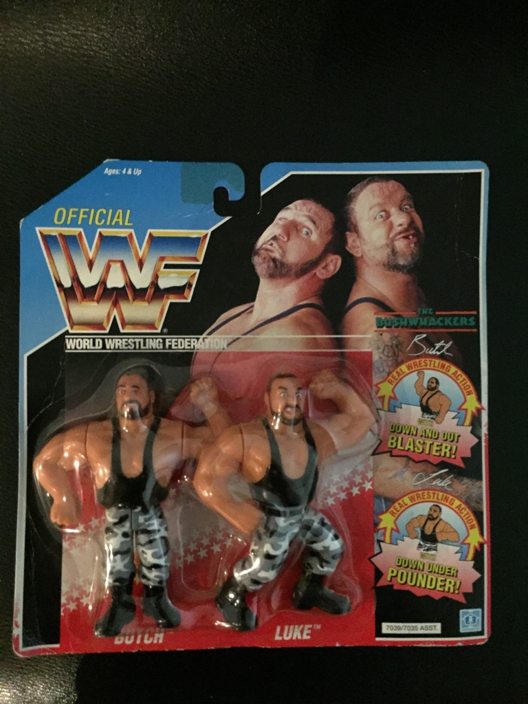 WWF 1991 The Bushwackers MOC