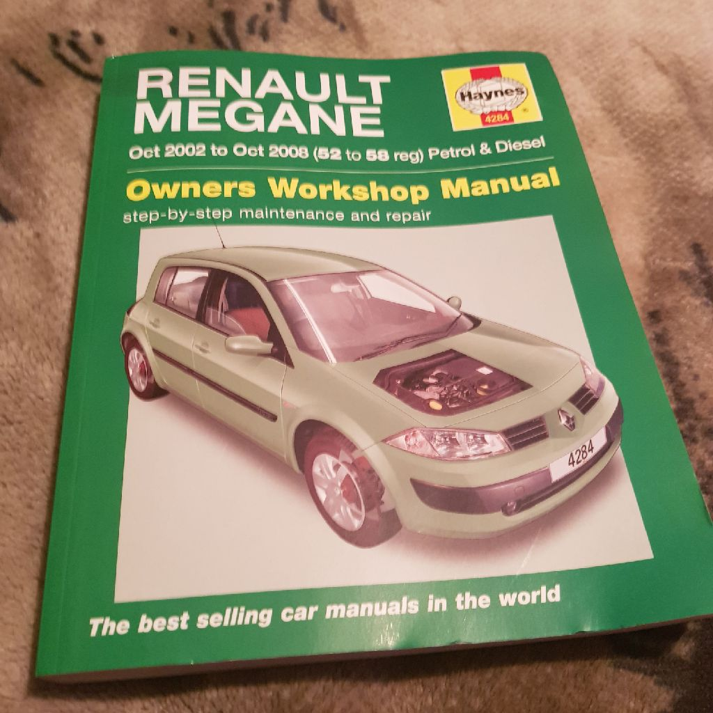 Haynes Manual Renault Megane Oct 2003 - 2008