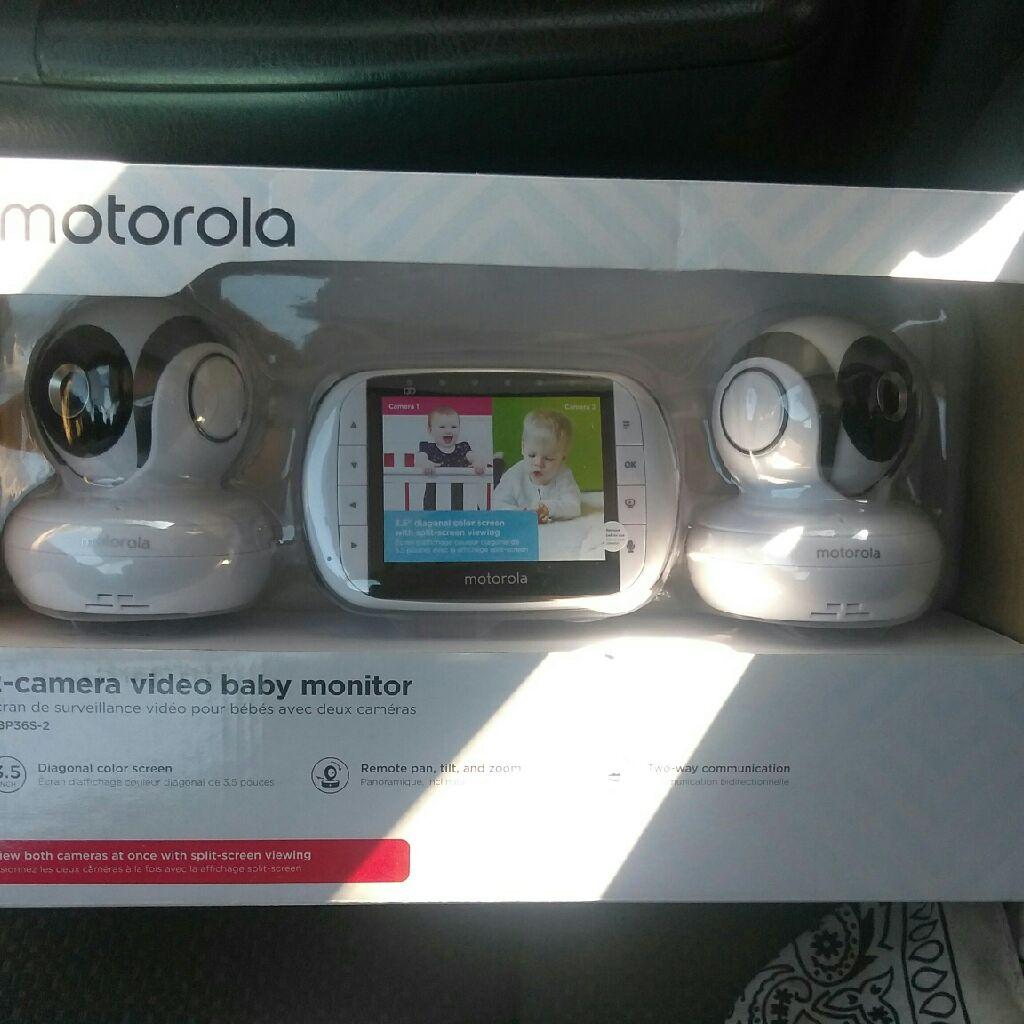 Motorola 2 camera vidio baby monitor