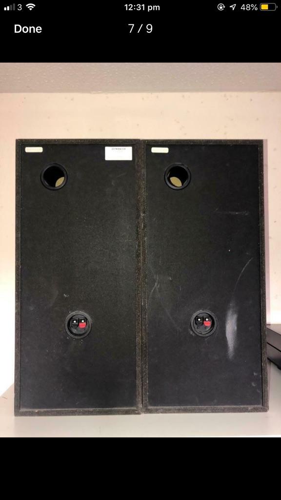 Pioneer S-Z370 120W 3-Way Speakers pair