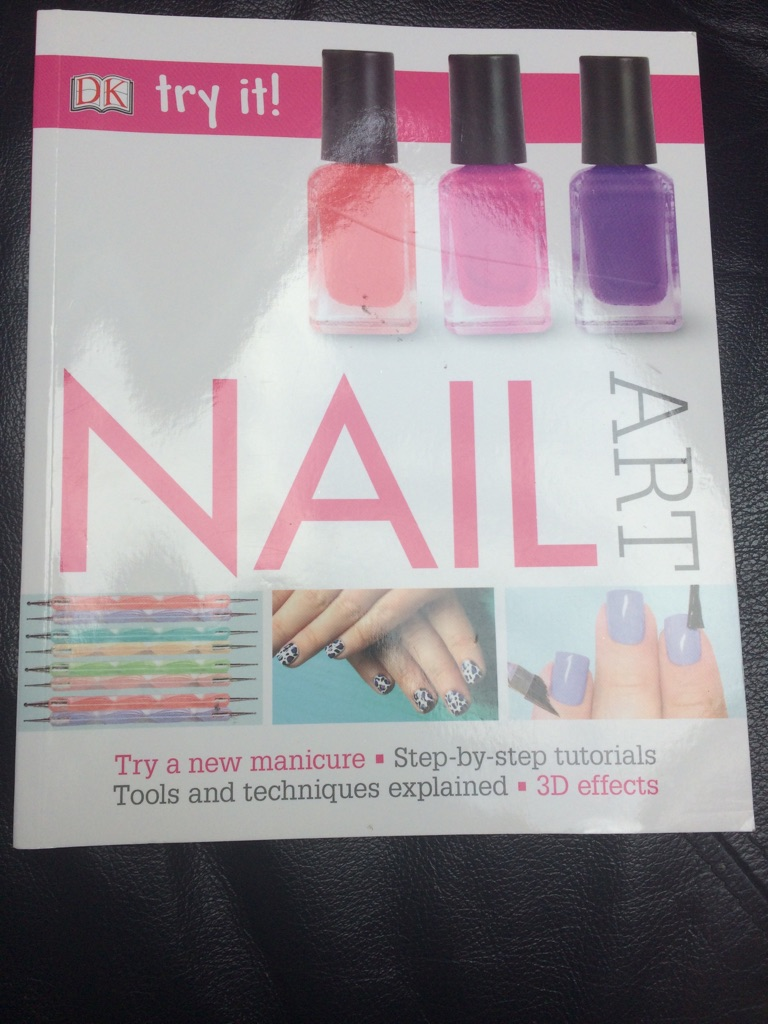 2x nail art books