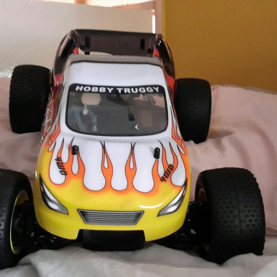 New nitro car