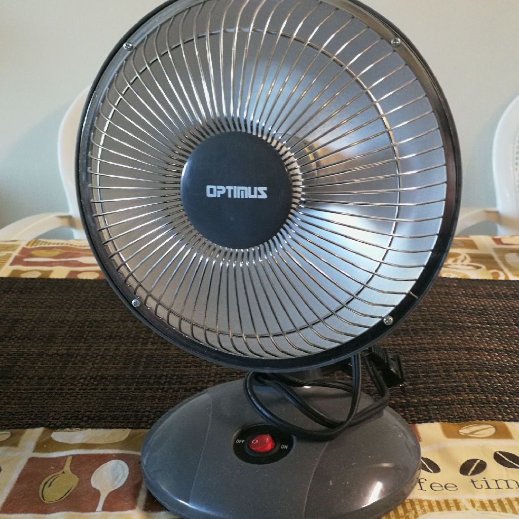 Optimus table electric heater