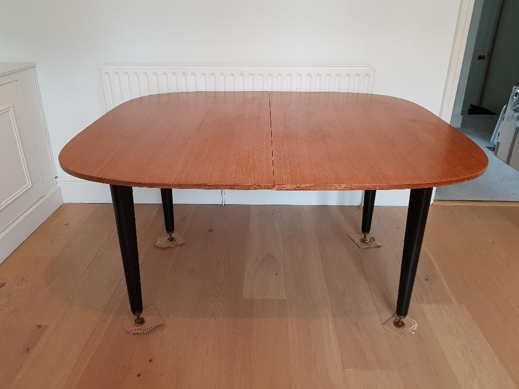 Large G Plan Extendable Teak Dining Table