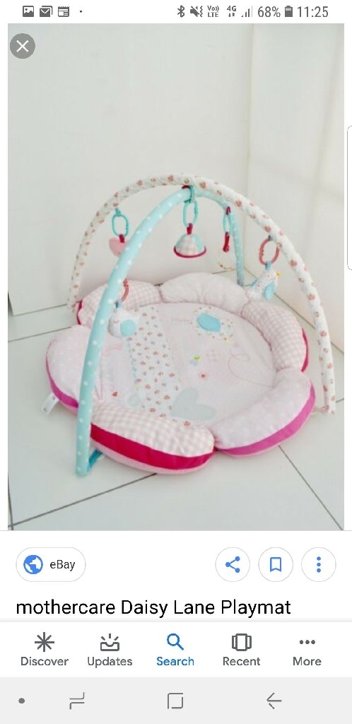 Daisy lane mothercare playmat
