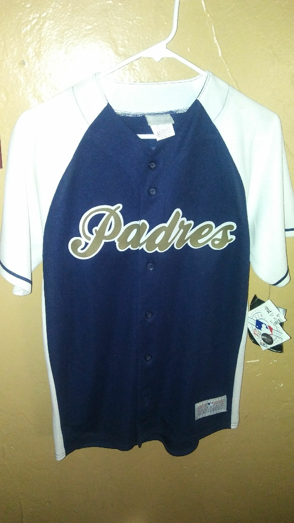 XL youth brand new with tags stitched blue jersey headley #7