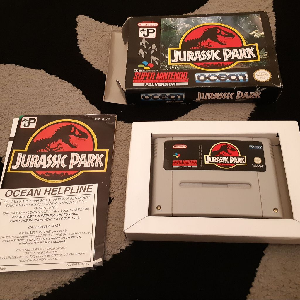 Jurassic park complete snes