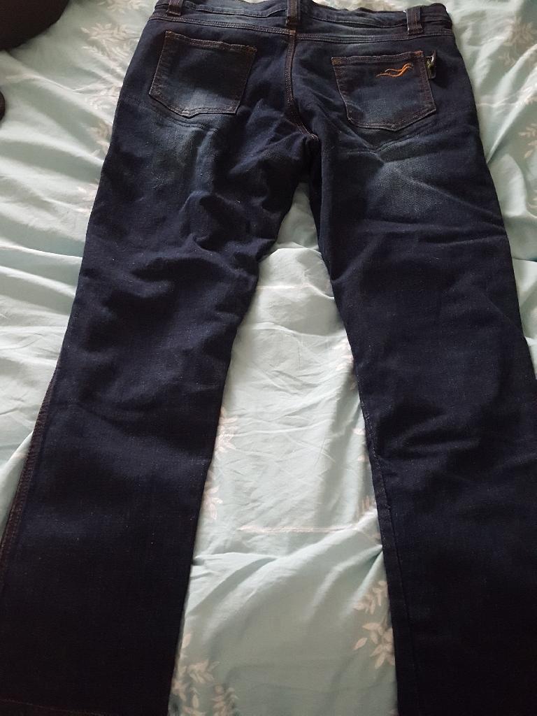 Ladies Biker Jeans