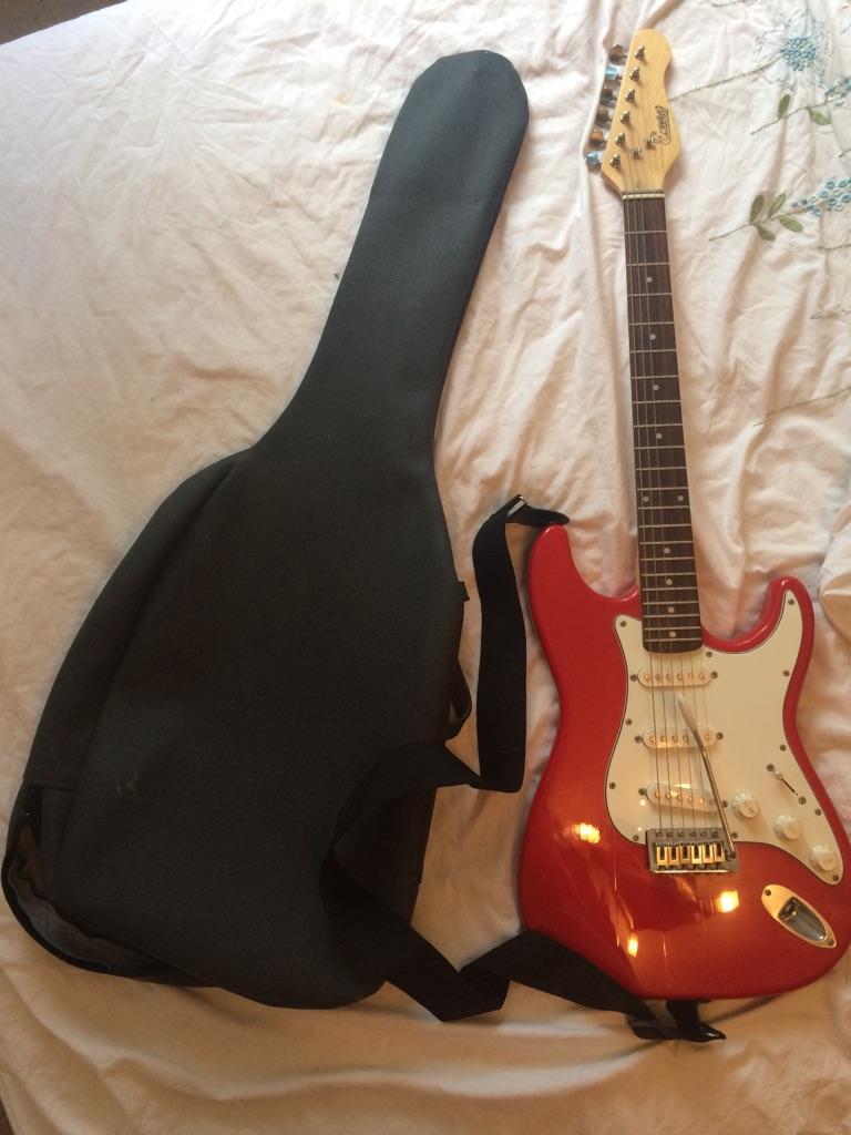 Stirling Electric Guitar & Case