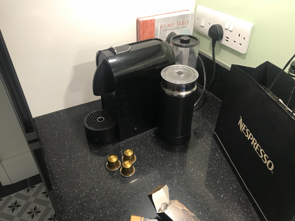 Nespresso CityZ and Milk coffee machine