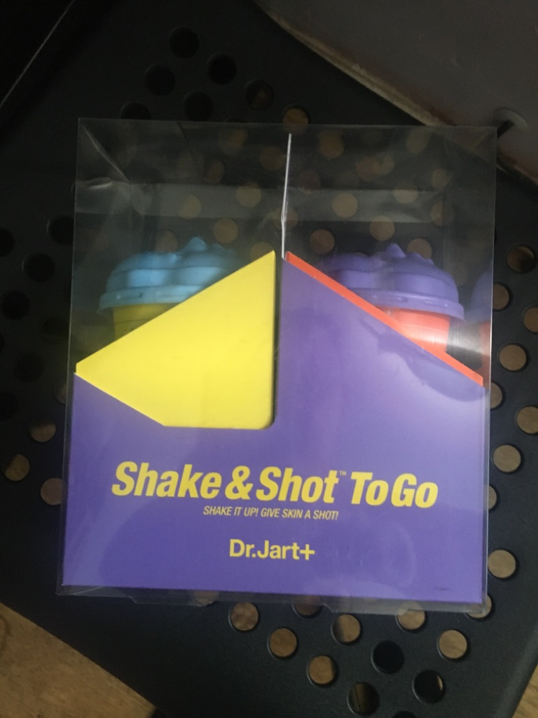 Shake to go dr Jart+ rubber face masks duo