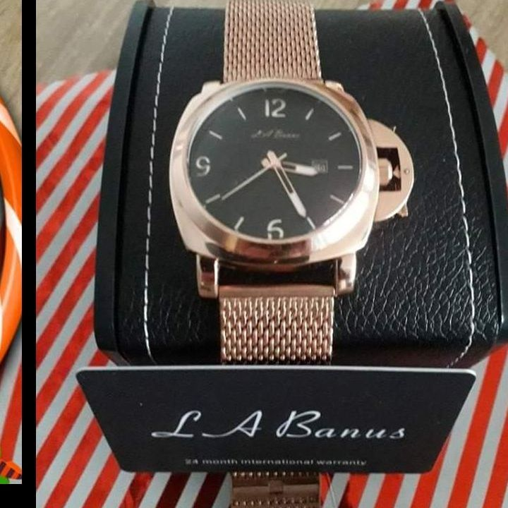 LA,BANUS WATCH--WILL LOOK AT OFFERS