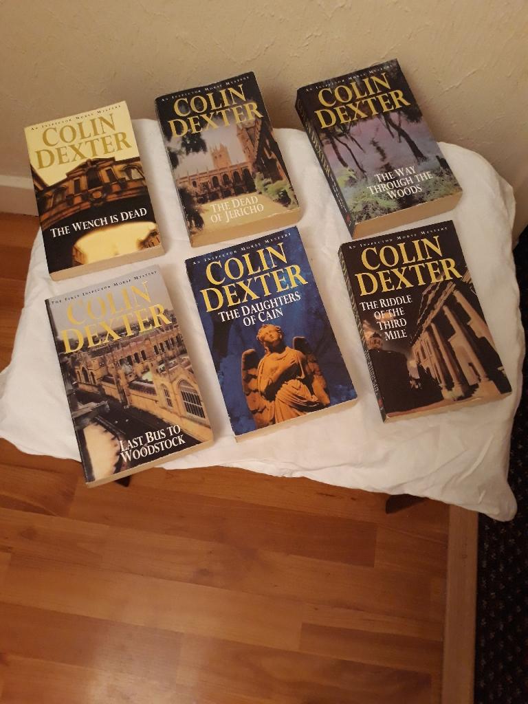 Colin Dexter books