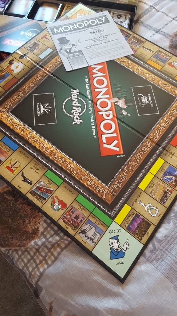 Monopoly Hard rock edition