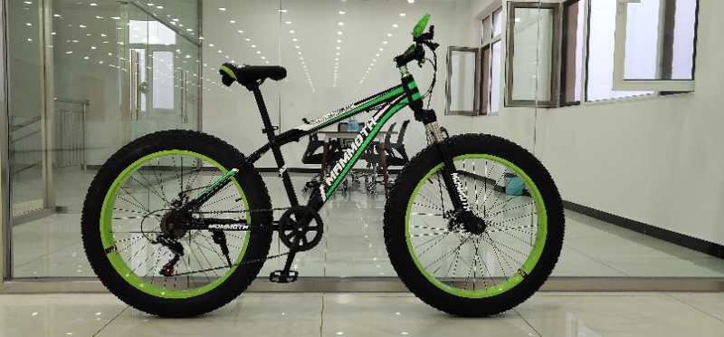 Mammoth Fat Tyre mountain bike with gears