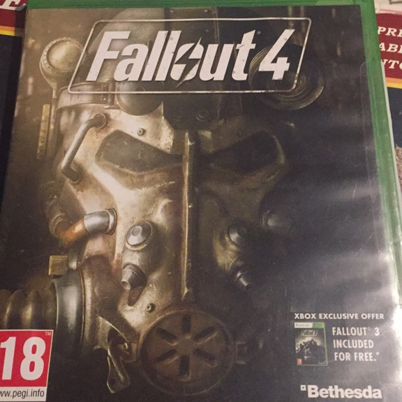 Fallout 4 (Xbox one game)