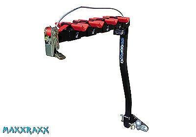 MaxxRaxx 4 bike pioneer flank ball rack plus Light board and hanger