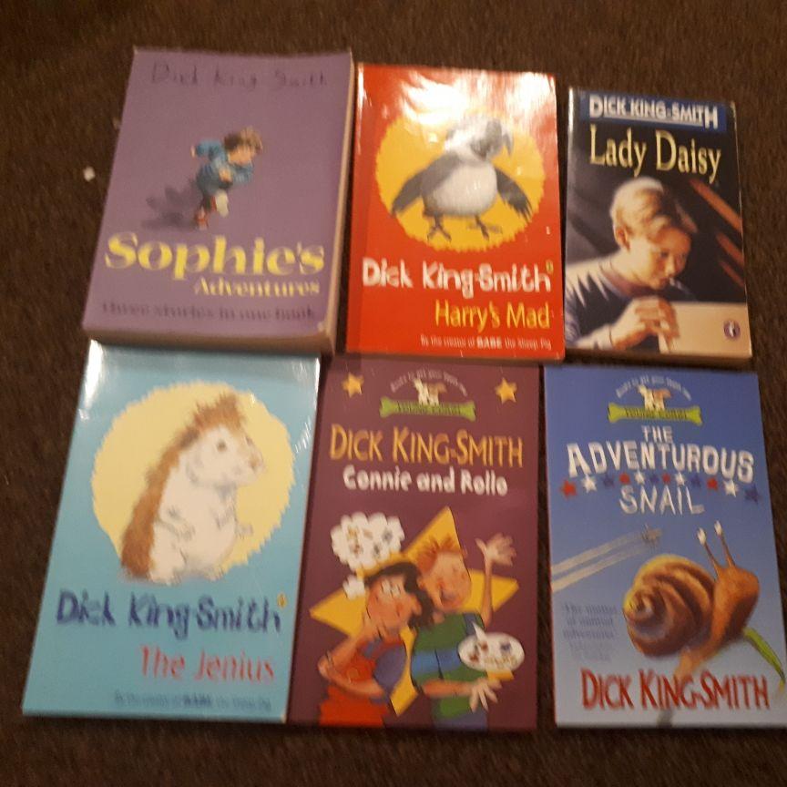 Dick king-Smith Books x17
